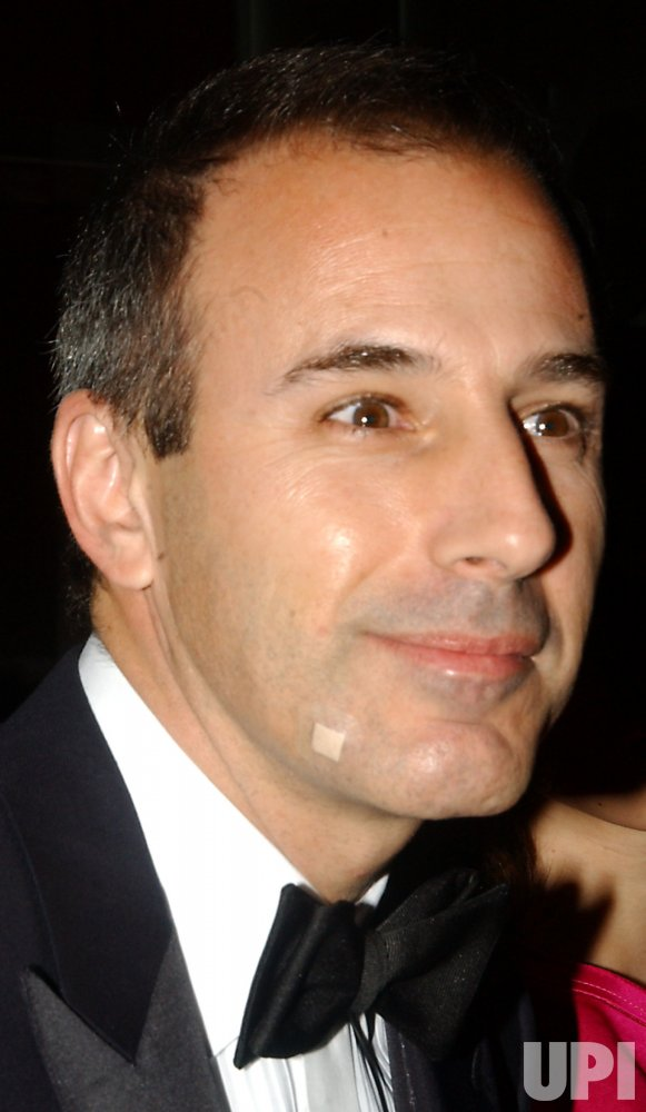 MATT LAUER ATTENDS TIME MAGAZINE'S 100 GALA