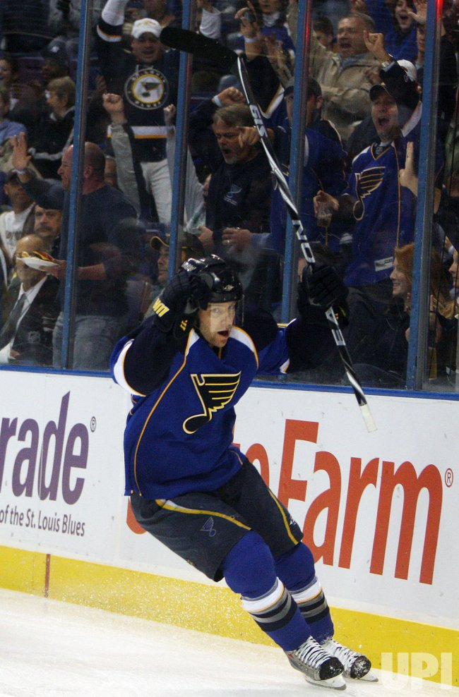 St. Louis Blues Andy McDonald