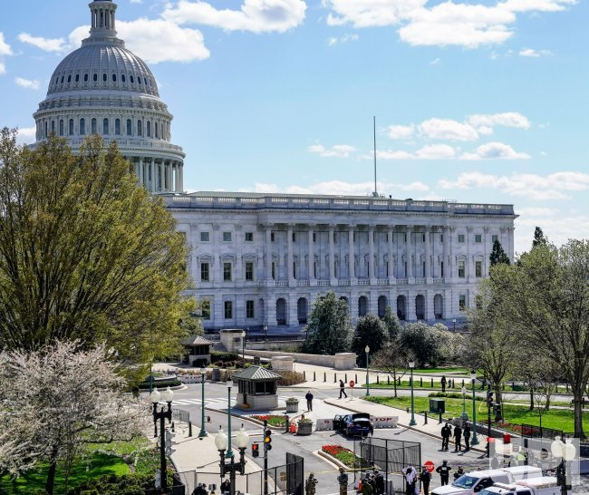 U.S. Capitol put on Lockdown after a man rams two Capitol Policeman at an entry gate