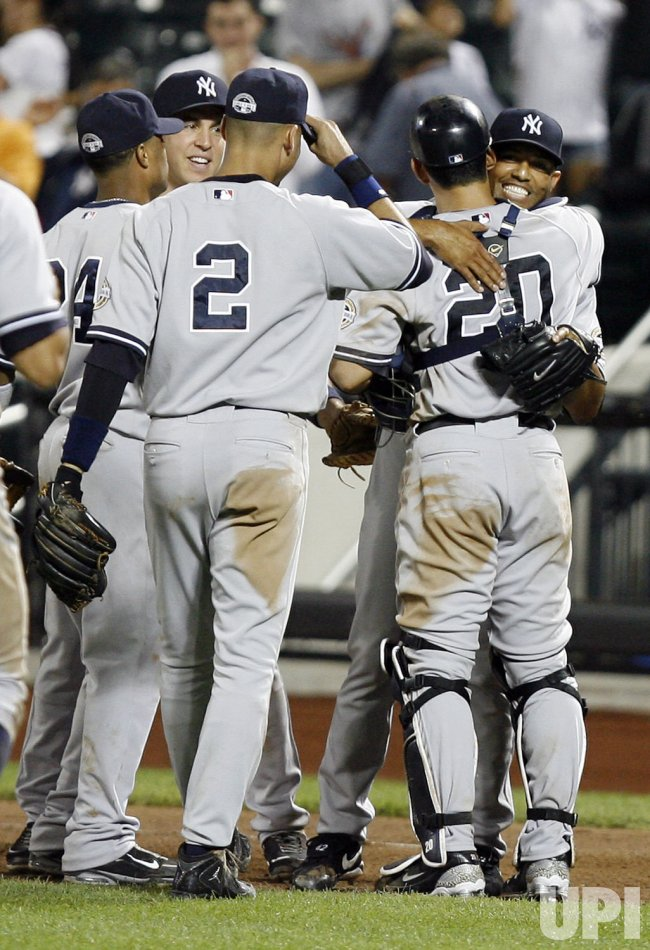 New York Yankees vs New York Mets at Citi Field in New York
