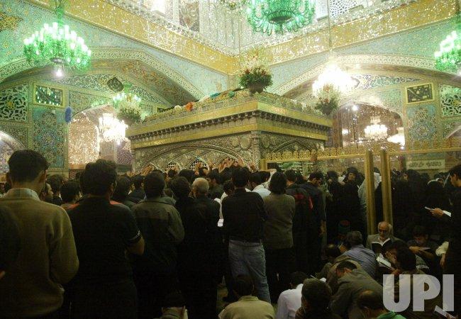 IRAN'S SUPREME LEADER LEADS FRIDAY PRAYERS