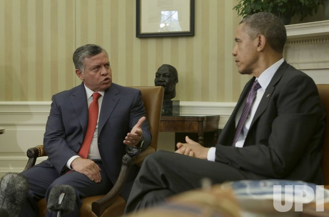 Obama Meets Jordan King at White House
