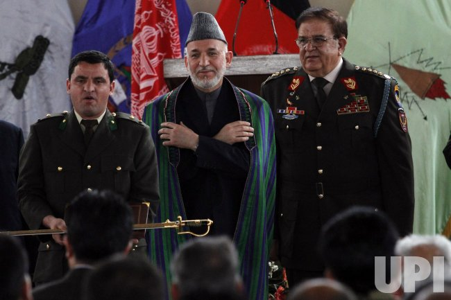 Military Officer Graduation Ceremony in Kabul