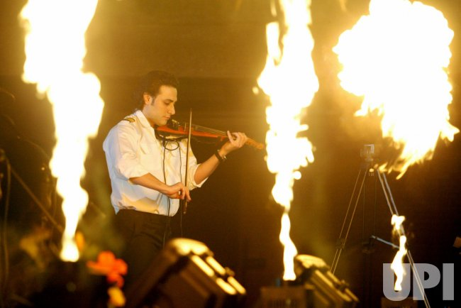 Iranian rock group Arian performs in Tehran