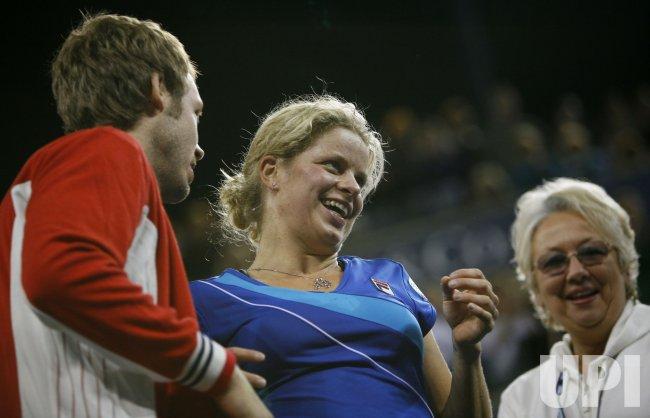 Kim Clijsters wins women's championship title over Vera Zvonareva at the U.S. Open in New York