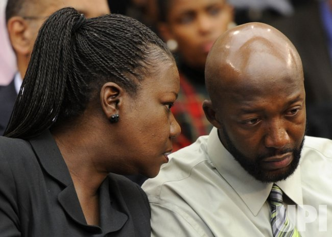 Parents of Trayvon Martin attend Judiciary Committee forum in Washington DC