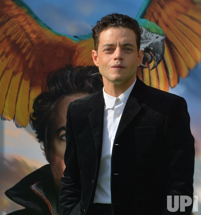 "Rami Malek attends the ""Dolittle"" premiere in Los Angeles"