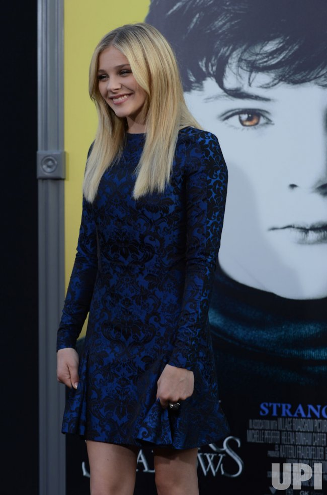 "Chloe Grace Moretz attends the ""Dark Shadows"" premiere in Los Angeles"