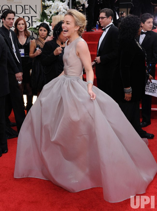 Piper Perabo arrives at the 69th annual Golden Globe Awards in Beverly Hills, California
