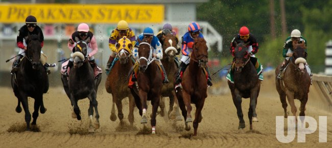 SMARTY JONES WINS PREAKNESS