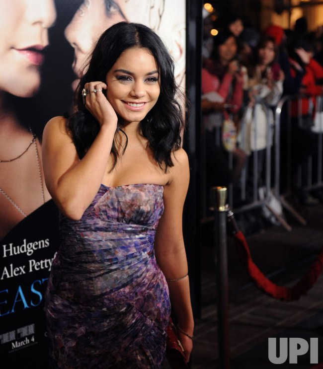 """Vanessa Hudgens attends the """"Beastly"""" premiere in Los Angeles"""