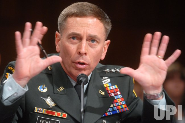 PETRAEUS AND CROCKER TESTIFY ON IRAQ IN WASHINGTON