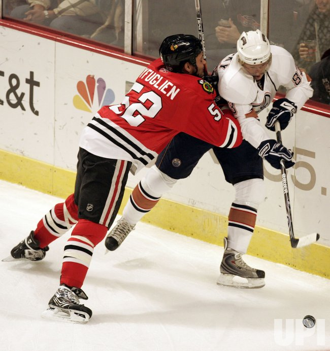 Edmonton Oilers vs Chicago Blackhawks