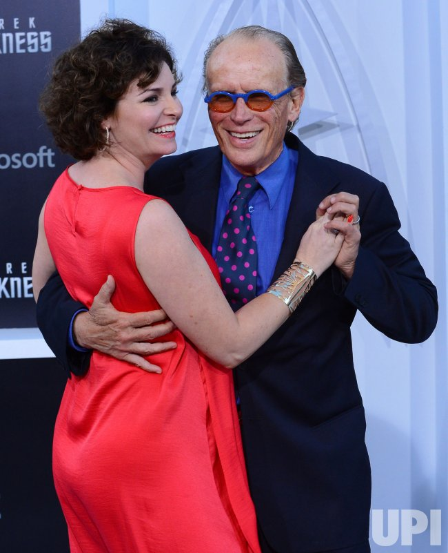 """Peter Weller and Shari Stowe attend the """"Star Trek into ..."""