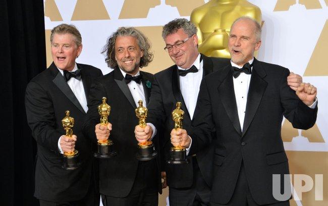 Kuvahaun tulos haulle Blade Runner 2049 academy award John Nelson, Gerd Nefzer, Paul Lambert & Richard R. Hoover