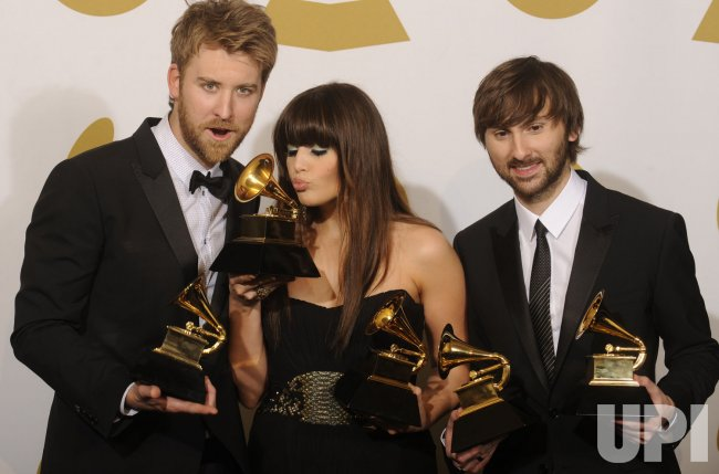 Lady Antebellum cleans up at the 53rd Grammy Awards in Los Angeles