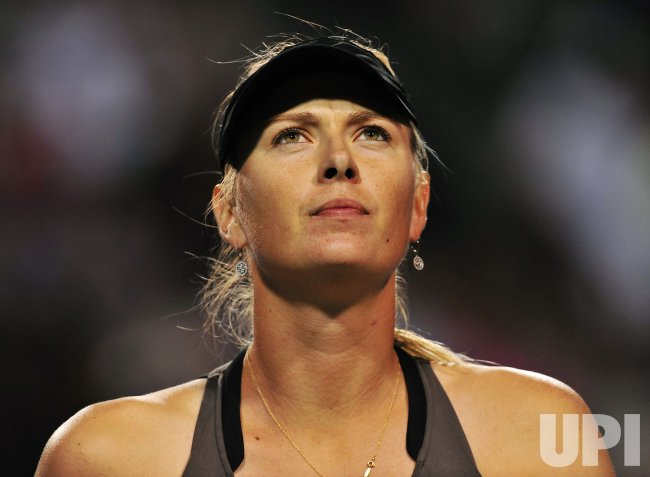Maria Sharapova wins second round match at 2011 Rogers Cup in Toronto