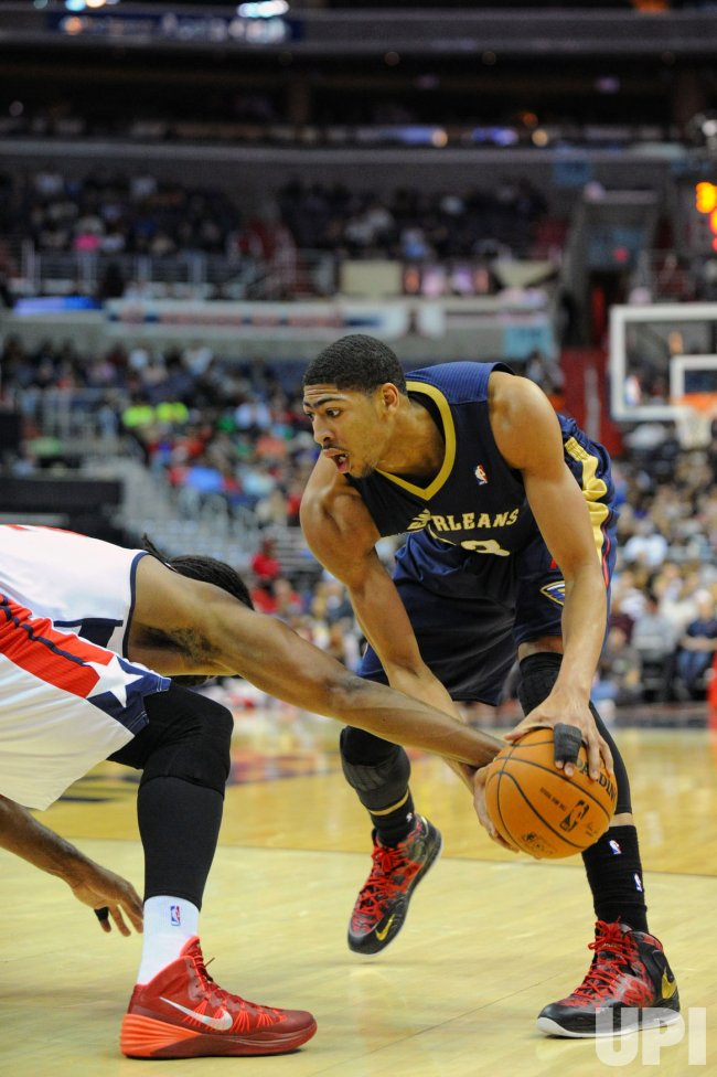 Washington Wizards vs New Orleans Pelicans in Washington