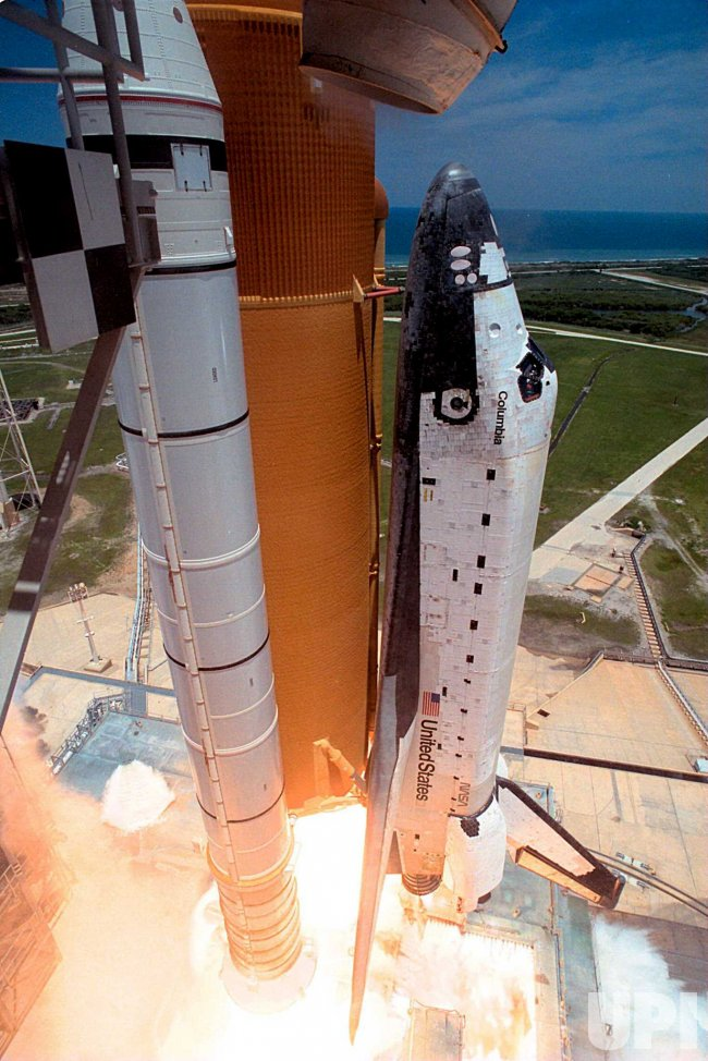 Columbia lifts off with STS-94 mission