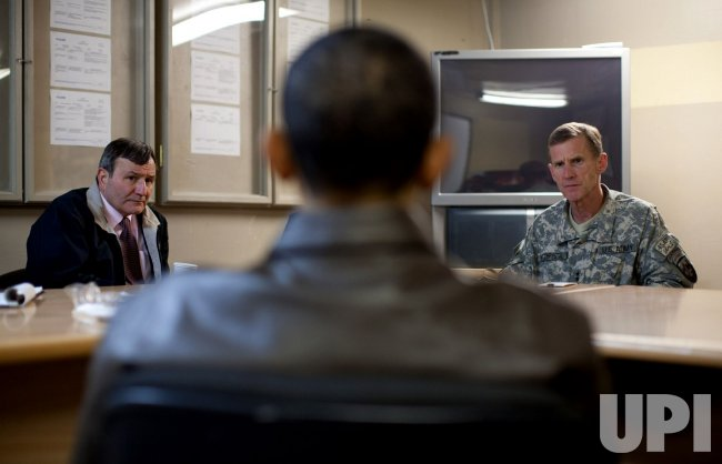 Obama Visits Government Officials and Troops in Afghanistan