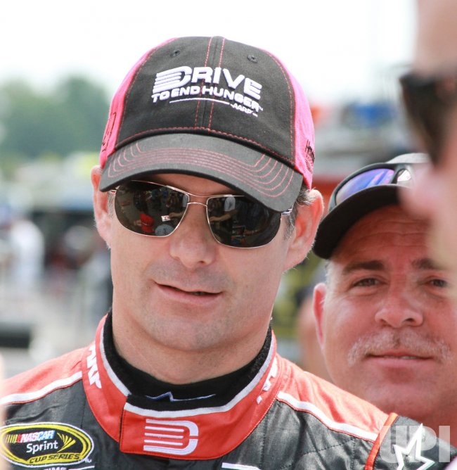 Jeff Gordon Hopes for a Fifth Victory at the Brickyard in Indianapolis, Indiana.