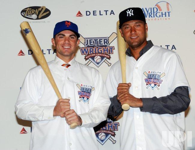 Derek Jeter, David Wright announce season-long batting challenge in New York