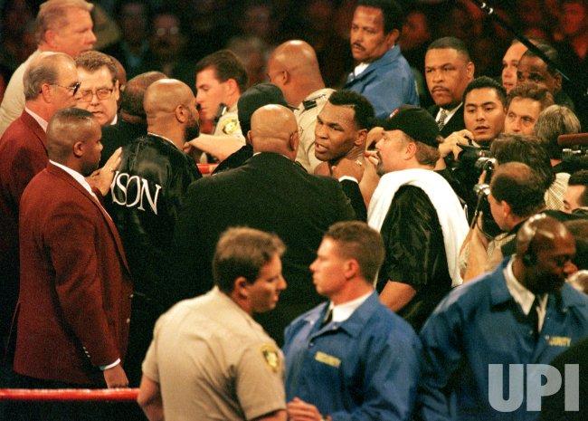Tyson fight