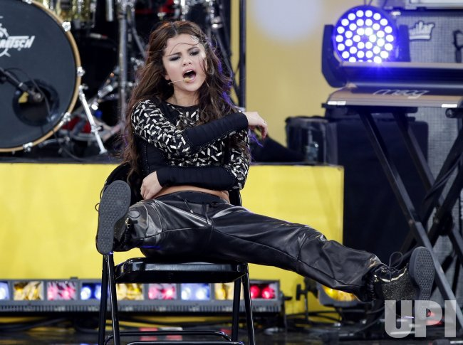 Selena Gomez on the Good Morning America Show in New York
