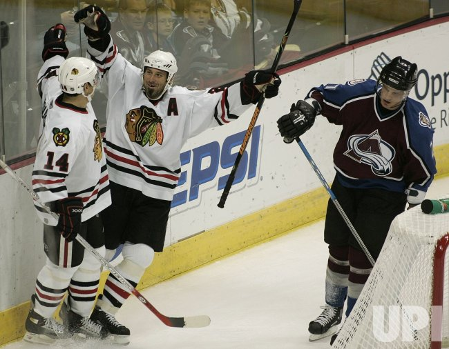 CHICAGO BLACKHAWKS VS COLORADO AVALANCHE