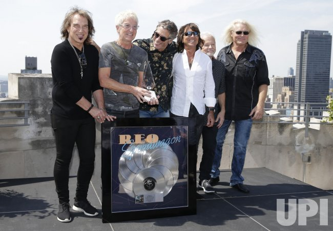 REO Speedwagon's 'Hi Infidelity' receives 10X Diamond Award - UPI com