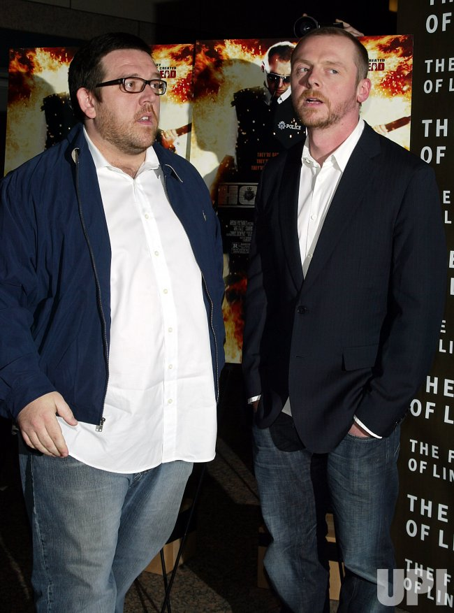 """HOT FUZZ"" PREMIERE IN NEW YORK"