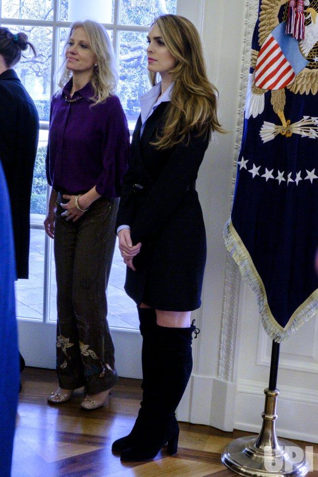 The White House Office Of Press >> Hope Hicks - UPI.com