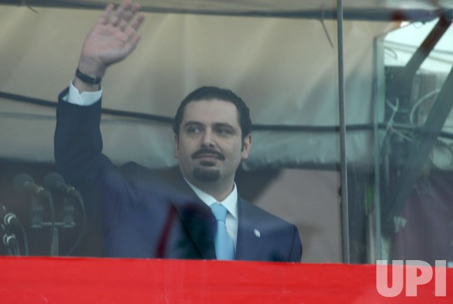 TENS OF THOUSANDS ATTEND SECOND ANNIVERSARY OF HARIRI ASSASSINATION