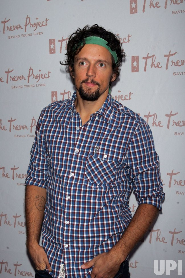 Jason Mraz arrives for the 10th Annual Trevor Project Gala in New York