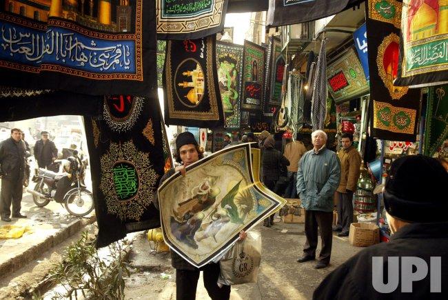 Shiite Muslims prepare for Ashura in Tehran