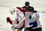 DETROIT RED WINGS VS ST. LOUIS BLUES HOCKEY