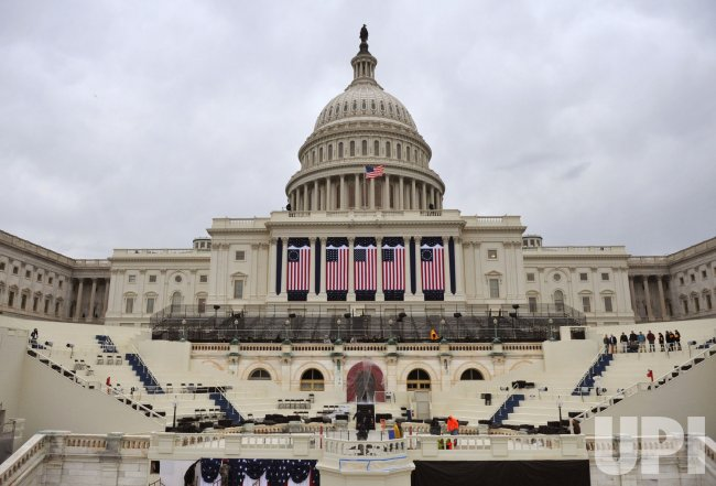 Inauguration Preparation in Washington, DC