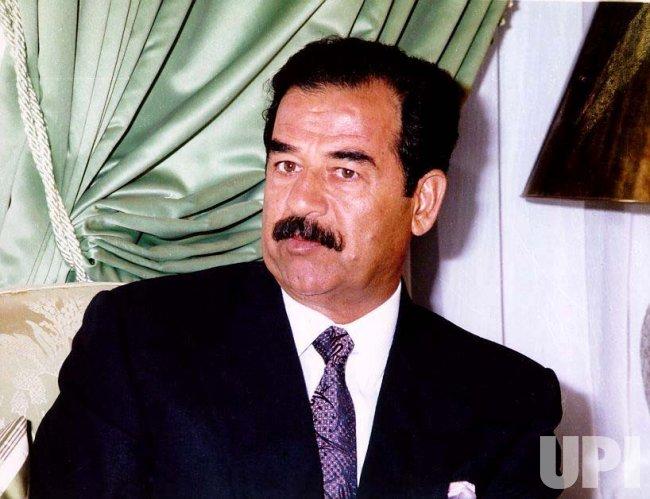 President Saddam Hussein