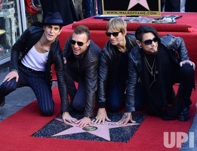 Jane's Addiction receives star on Hollywood Walk of Fame in Los Angeles