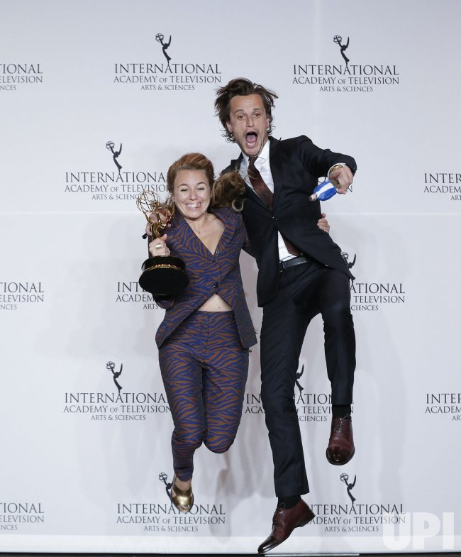 Sofie Peeters at the 46th International Emmy's
