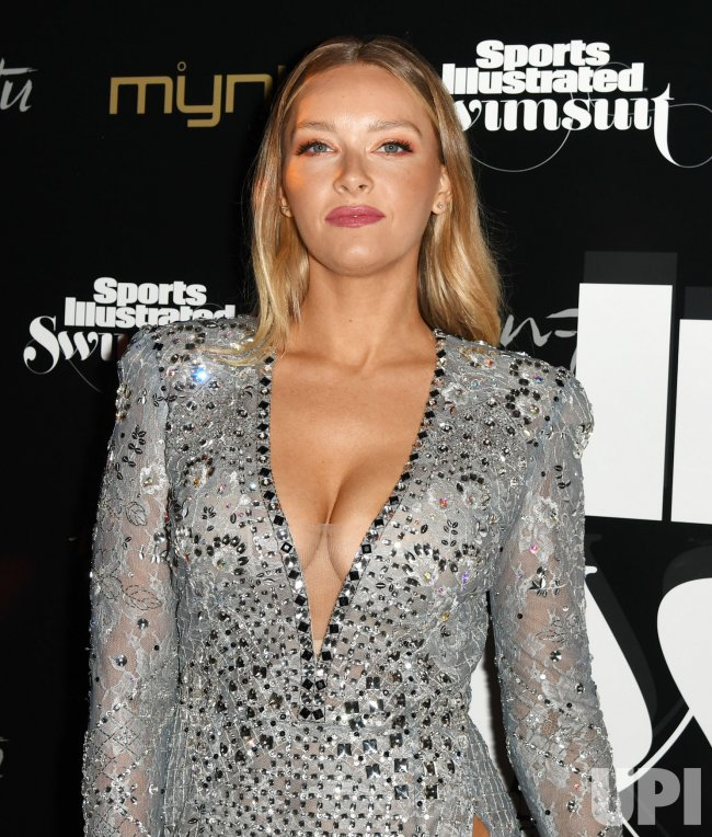 Camille Kostek Swkmsuit: Camille Kostek Walks The Red Carpet At The 2019 SI