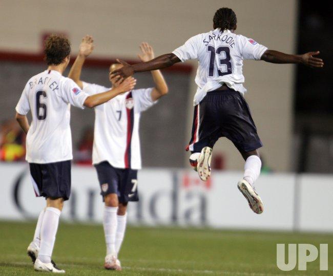 USA UPSETS BRAZIL AT 2007 FIFA U-20 WORLD CUP IN OTTAWA