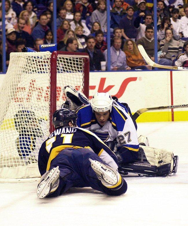 St. Louis Blues vs Nashville Predators hockey