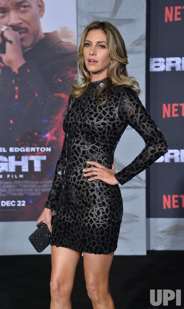 "Dawn Olivieri attends the ""Bright"" premiere in Los Angeles"