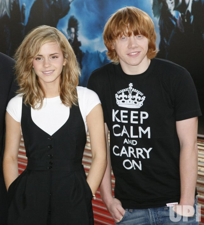 HARRY POTTER PHOTOCALL IN PARIS