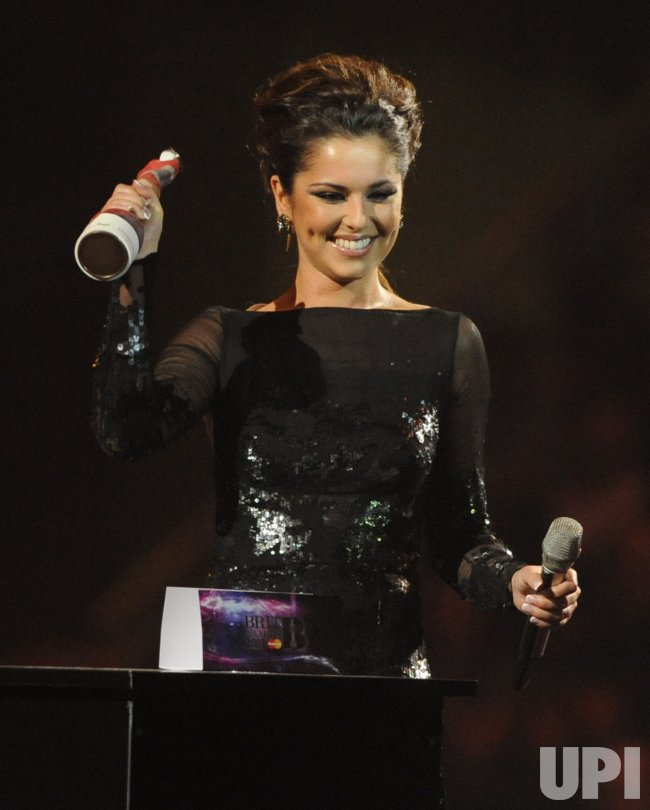 "Cheryl Cole at the ""Brit Awards"" in London"