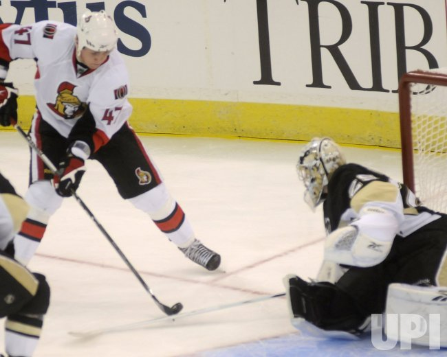 Penguins vs. Senators in NHL Eastern Conference Quarter Final in Pittsburgh