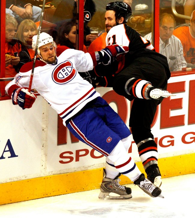 Montreal Canadiens vs Philadelphia Flyers