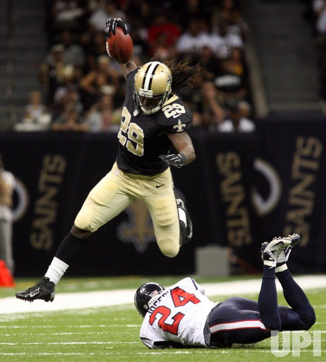 New Orleans Saints vs Houston Texans at the Mercedes-Benz Superdome in New Orleans