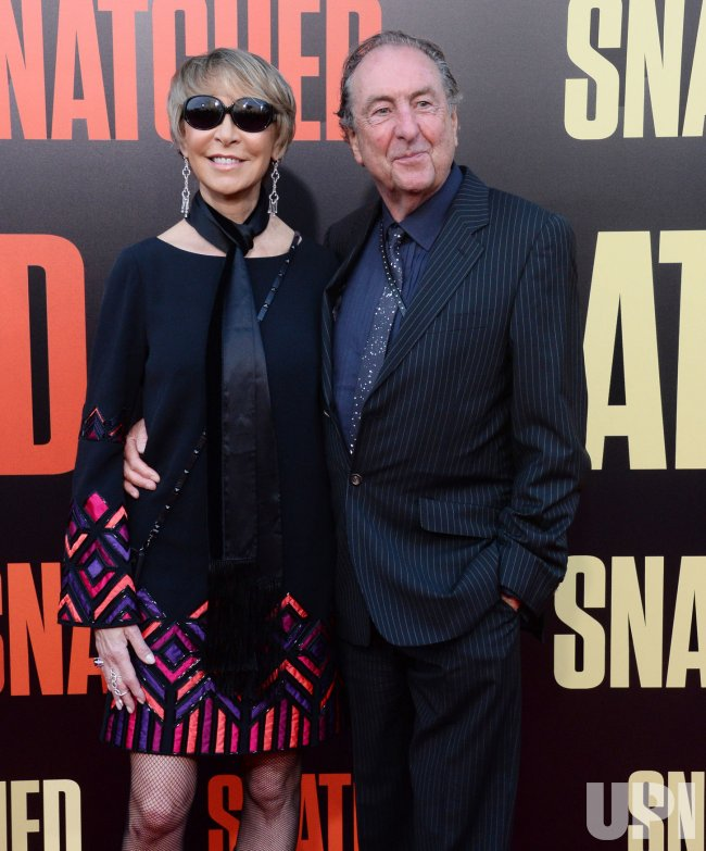 "Eric Idle and Tania Kosevich attend the ""Snatched"" premiere in Los Angeles"